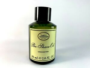 The Art of Shaving Pre-Shave Oil Unscented 2 oz ~ Brand New Without Box