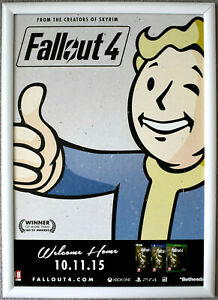 Fallout 4 RARE PS4 PC XBOX ONE 42cm x 59cm Promotional Poster