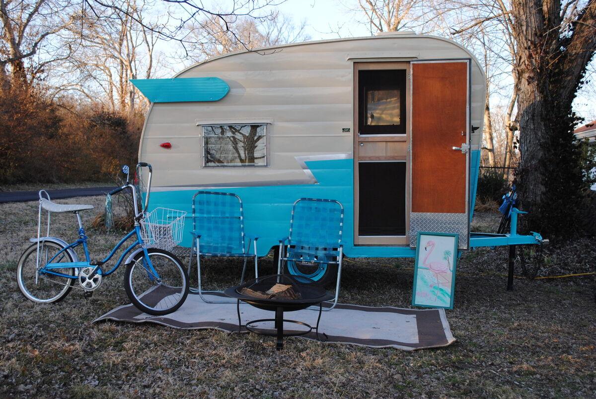 Vintage camper decals R us