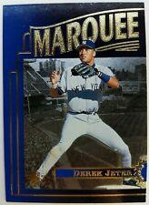 1996 96 SP MARQUEE MATCHUPS Derek Jeter ROOKIE RC #MM3, BLUE ,FOIL