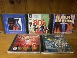 5 x 1980s Various Artists CDs - Pseudo Echo, Divinyls, The Specials, etc