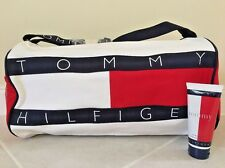 Tommy Hilfiger Travel Duffle Bag Large with FREE Body Wash