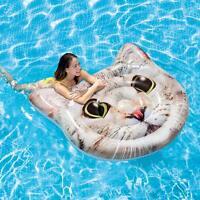 Intex Vinyl Cat Island Inflatable Pool Float NEW In Box