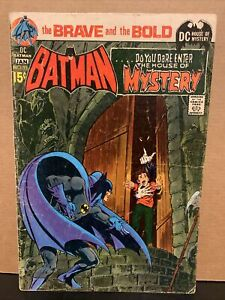 Brave and the Bold #93 DC Comics Combine Shipping Batman House of Mystery
