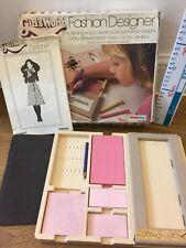 Vintage Girl's World Fashion Designer kit Boxed
