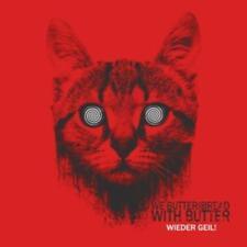 WE BUTTER THE BREAD WITH BUTTER - WIEDER GEIL! - Red-Vinyl-LP - 884860133210