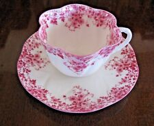 Shelley Dainty Pink Teacup and Saucer   NO injuries   Complete your collection !