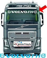Volvo decal FH windscreen vinyl truck graphic sticker (also fit visor) FH13 FH16
