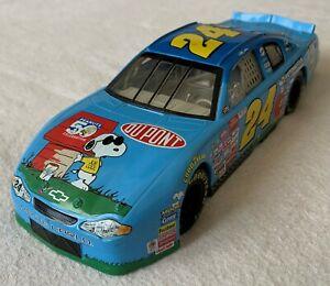 Winner's Circle Jeff Gordon #24 Snoopy Monte Carlo NASCAR 1:24 Die Cast
