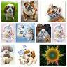 DIY 5D Diamond Painting Animals Embroidery Cross Craft Stitch Kit Home Decor Art
