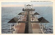 New Jersey postcard Atlantic City Ball Room Steel Pier