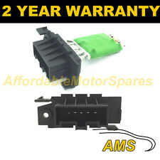 FOR PEUGEOT BOXER BIPPER HEATER BLOWER MOTOR FAN RESISTOR RHEOSTAT