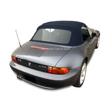 BMW Z3 Convertible Top in Blue Twillfast II Cloth with Plastic Window