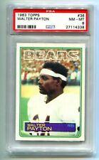 1983 Topps Walter Payton #36 PSA 8 NM-MT HOF BEARS 🏈