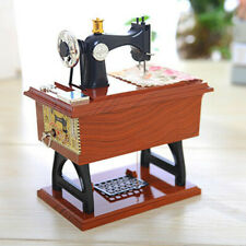 Vintage Sewing Machine Style Music Box Kids Toys Musical Birthday Gifts New