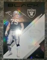 2020 Panini Black Base Card Silver /99 Howie Long Oakland Raiders #98