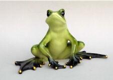 Frosch Kröte Unke Lurch Frösche Deko Tier Figur Skulptur Froschkönig Laubfrosch