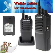 LEIXEN 10km Long Range Walkie Talkie 25W UHF 400-480Mhz Two Way Radio Intercom