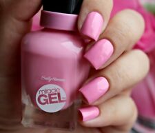 "Sally Hansen Miracle Gel Polish "" PINK CADILLAQUER "" -New/Full Size - SALE!!"