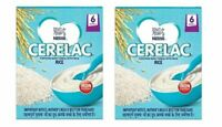 Nestle Cerelac Fortified Baby Cereal with Milk - 300 gm x 2 pack (Rice)Free ship