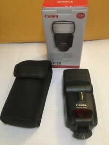 Canon Speedlite 430EX Shoe Mount Camera Flash for Canon