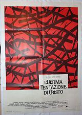 MANIFESTO CINEMA - L'ULTIMA TENTAZIONE DI CRISTO - W. DAFOE - 1988 -RELIGIOSO-01