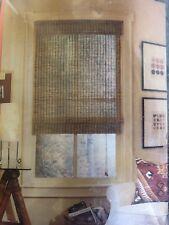 """Levolor Natural Woven Bamboo Design  Roman Shade - 36 X 64"""""""