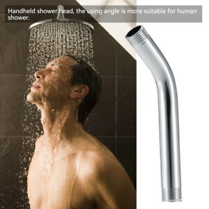 """/2 """" Plating Stainless Steel Handheld Shower Arm Extension Wall Mounted"""