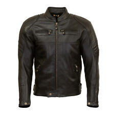 MERLIN Odell Leather Jacket Black Size 44 Chest P/N MPL053