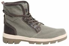 Timberland City Blazer Mixed-Media Mens Boots Lace Up Canvas Leather A1GG7 X54A