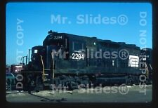 Original Slide PC Penn Central GP35 2294 Detroit MI 1976