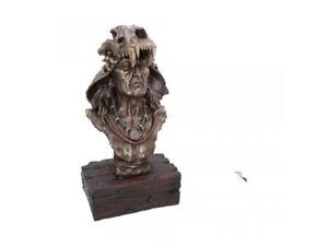 ACHAK Extra Large 51cm Bronzed Native American Indian Ornament Nemesis Free P+P