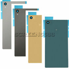 For Sony Xperia Z5 E6603 E6633 Battery Back Door Cover Rear Glass With Adhesive