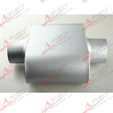 "3"" Center / Center EXHAUST OVAL SINGLE CHAMBER MUFFLER SILENCER"
