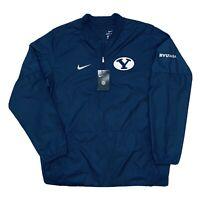 Nike BYU Brigham Young University Lightweight Half Zip Jacket Mens Large NEW