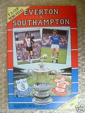 1984 FA Cup Semi Final EVERTON v SOUTHAMPTON, 14 April