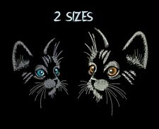 Cat Machine Embroidery design kitten embroidery designs HUS PES DST JEF XXX VIP