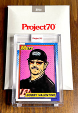 New listing Bobby V 2021 Topps Project70 #469⚾⚾⚾SP⚾⚾⚾By Blake Jamieson⚾⚾PR: 1319⚾⚾Valentine*