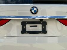 REAR LICENSE PLATE HOLDER BRACKET FOR BMW + 6 Unique Screws & Wrench NEW