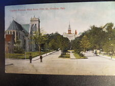 Omaha (Peyton Manning's Favorite City) Capitol Ave. West from 17th Postcard 1910