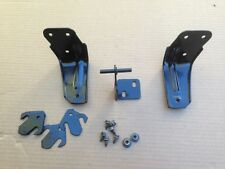 87-93 Ford Mustang Lower Rear Seat Mounting Brackets w/ Bolts Hardware GT LX
