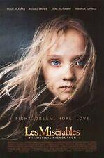 LES MISERABLES - 2012 - orig 27x40 D/S Movie Poster - Reg Style - ANNE HATHAWAY