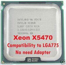 Intel Xeon X5470 3.33GHz LGA775 Quad Core Processor no need adapter