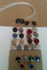 Re Upholstery Button Covering Service-Caravans & All furnishings Choice/Quatity