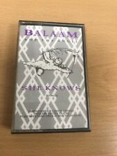 Original Cassette Single - Balaam And The Angel - She Knows - Limited Edition