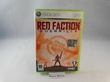 RED FACTION GUERRILLA - MICROSOFT XBOX 360 PAL ITA ITALIANO COMPLETO COME NUOVO