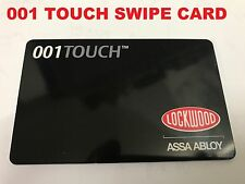 Lockwood 001 Touch RFKC10 Swipe Key Card Only