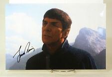 Leonard Nimoy Star Trek Signed Autograph  With COA