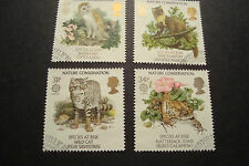 GB 1986 Commemorative Stamps~Nature~Very Fine Used Set~(ex fdc)UK Seller