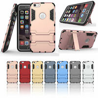 Shockproof Rugged Hybrid Stand Case Cover For Apple iPhone 6 6s plus 4.7/5.5""